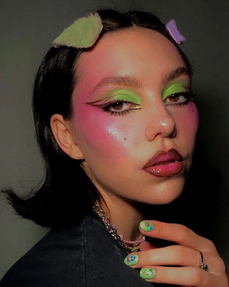 Watch On Youtube Magic Viral Burgundy Makeup Tutorial Secrets Tiktok Compilation Popular Edgy Makeup Editorial Makeup Pretty Makeup