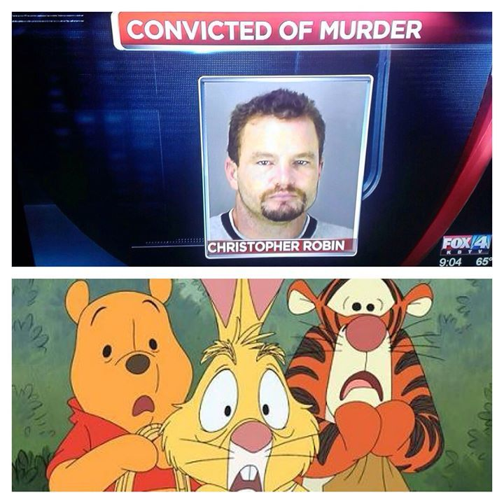 "This made me laugh so hard for some reason. Colin would say in pooh's voice, ""oh bother"""