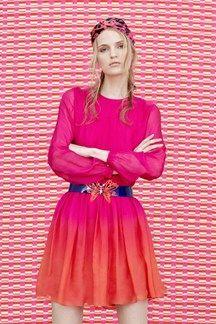 pink+orange Matthew Williamson - Pre Spring/Summer 2015 Ready-To-Wear