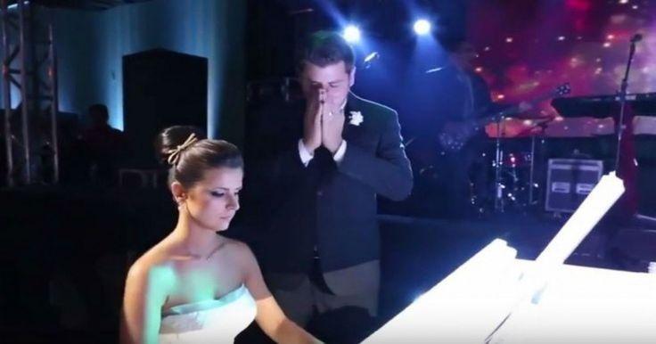 Νύφη κάνει έκπληξη στον… χεβιμεταλά γαμπρό στη γαμήλια δεξίωση