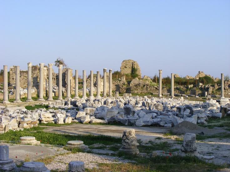 Side, Antalya region