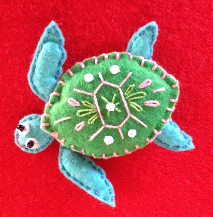 Felt Sea Turtle Finger Puppet                                                                                                                                                      More
