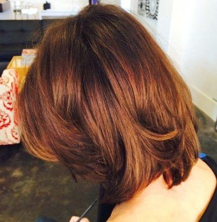 56 trendy hairstyles long bob brunette