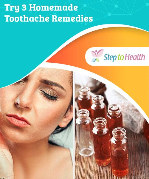 Try 3 Homemade Toothache Remedies Poor nutrition, a lack of oral hygiene, and infections are the main factors that lead to bacteria developing in the mouth ...