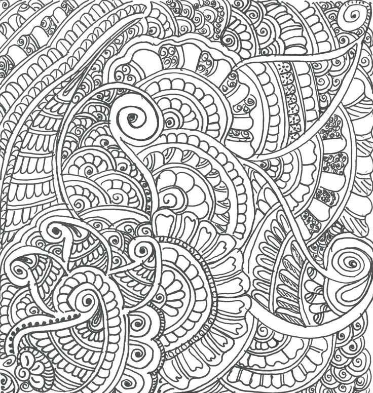 2015 Doodle From Rita Dhangar Colouring Art Therapy