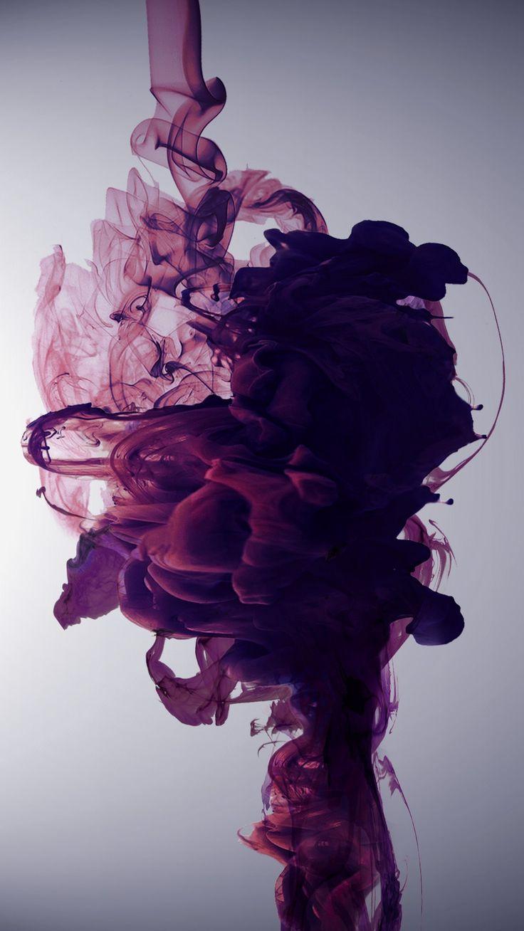 HD Purple Liquid Wallpaper For iPhone - Best iPhone Wallpaper