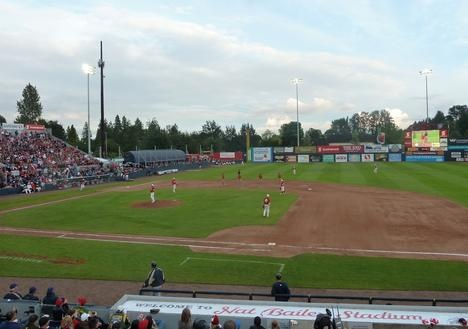 Vancouver Canadians hit a home run with youth baseball league