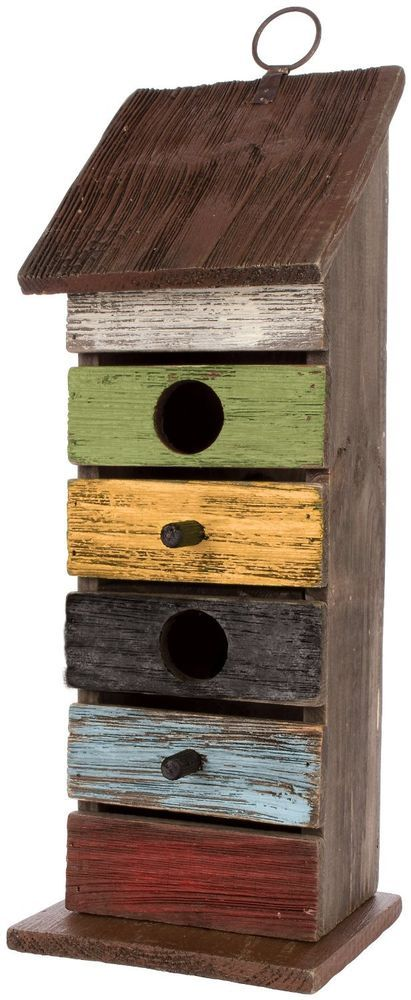 Carson Home Accents Vintage Tall Birdhouse, 14.25-Inch , New, Free Shipping #Carson