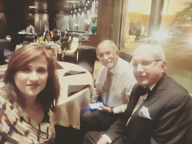 With FIGO President and my Teacher Prof CN Purandare Sir