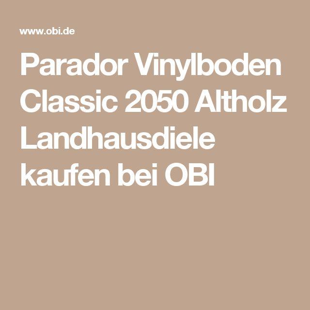 Parador Vinylboden Classic 2050 Altholz Landhausdiele kaufen bei OBI