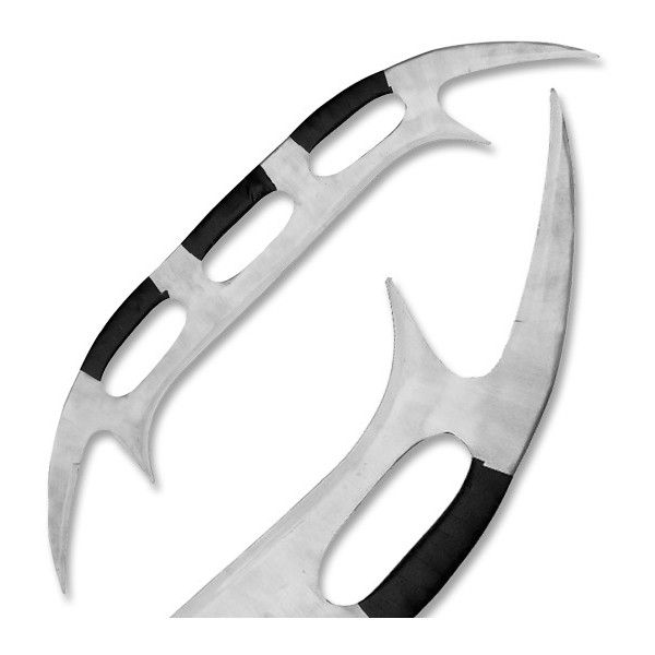 Massive 48 in. Klingon Bat'Leth Style War Sword ($50) ❤ liked on Polyvore featuring weapons