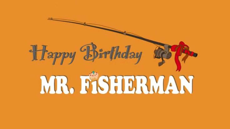 Title design for Happy Birthday Mr. Fisherman