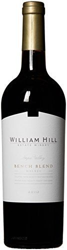 cool 2010 William Hill Estate Bench Blend Malbec Amazon Exclusive Red Wine 750mL