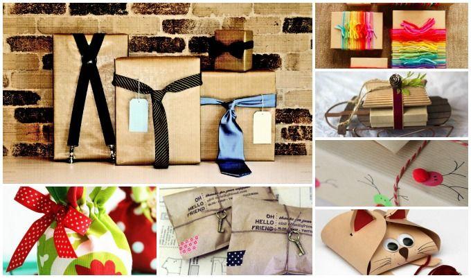 25 kreative måter å pakke inn gaver på, nr. 12 er bare så skjønn!
