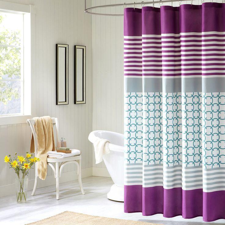 Best 25 Purple shower curtains ideas on Pinterest Purple
