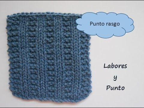 1004 best tutoriales puntos images on pinterest knitting - Puntos para tejer ...
