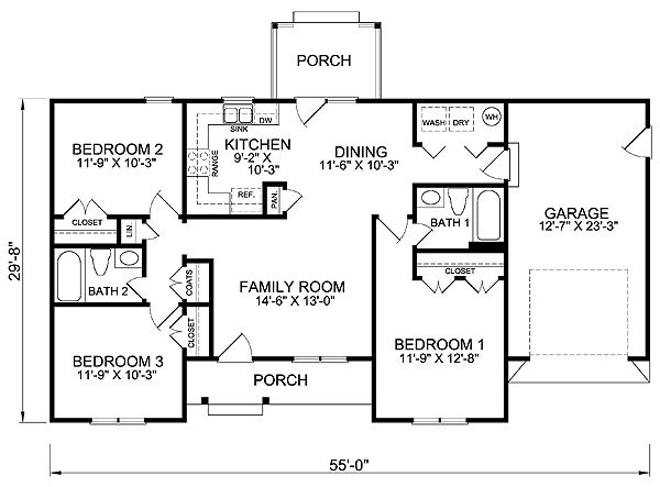 images about House Plans on Pinterest   House plans  Floor    Connect a second unit at the garage for a duplex   House Plan chp