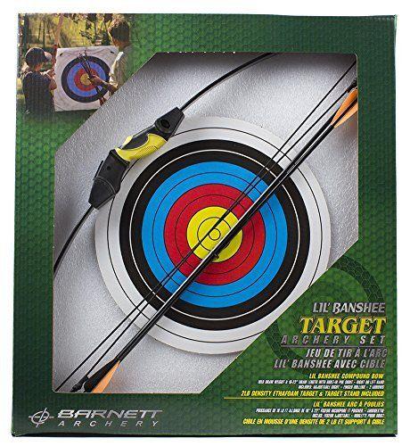 Barnett Lil Banshee Target Combo Archery Set by Barnett Crossbows. Barnett Lil Banshee Target Combo Archery Set.