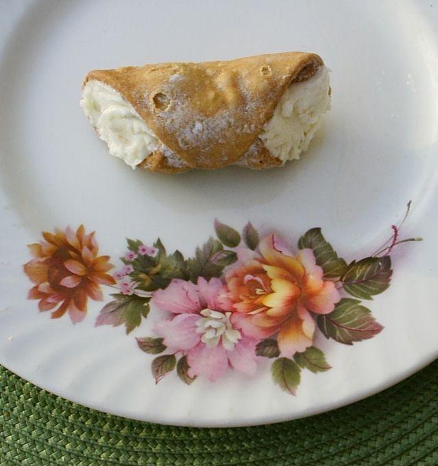 ...ricotta cheese cannoli [image]