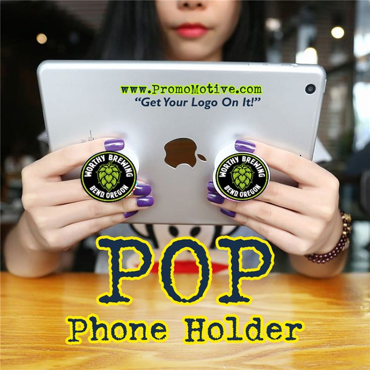 Game on! Order your custom logo pop socket for tradeshows, business promotions and swag!