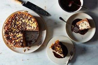 Ricotta Cheesecake Pie with Chocolate-Coffee Ganache  Recipe on Food52 recipe on Food52