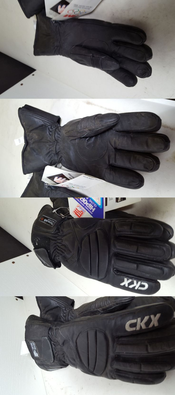 Other Winter Sport Accessories 21232: Small Ckx Snowmobile Gloves Black Free Shipping -> BUY IT NOW ONLY: $30 on eBay!