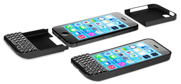 Best this is the phone cover you need!  Ryan Seacrest's keyboard case turns your iPhone into a BlackBerry (video)