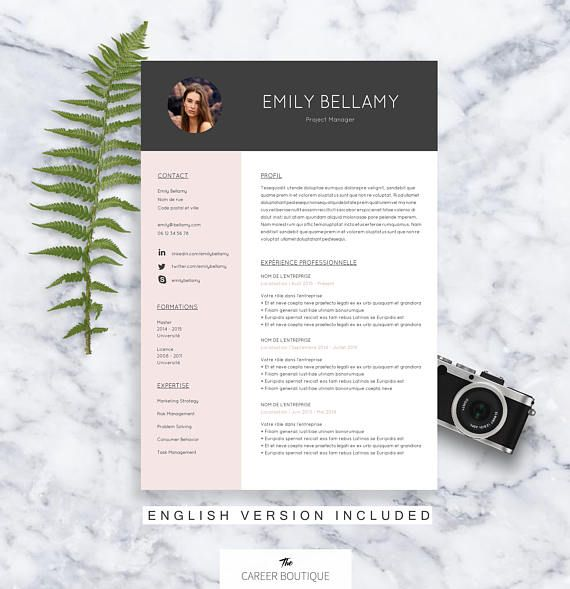 resume formaty