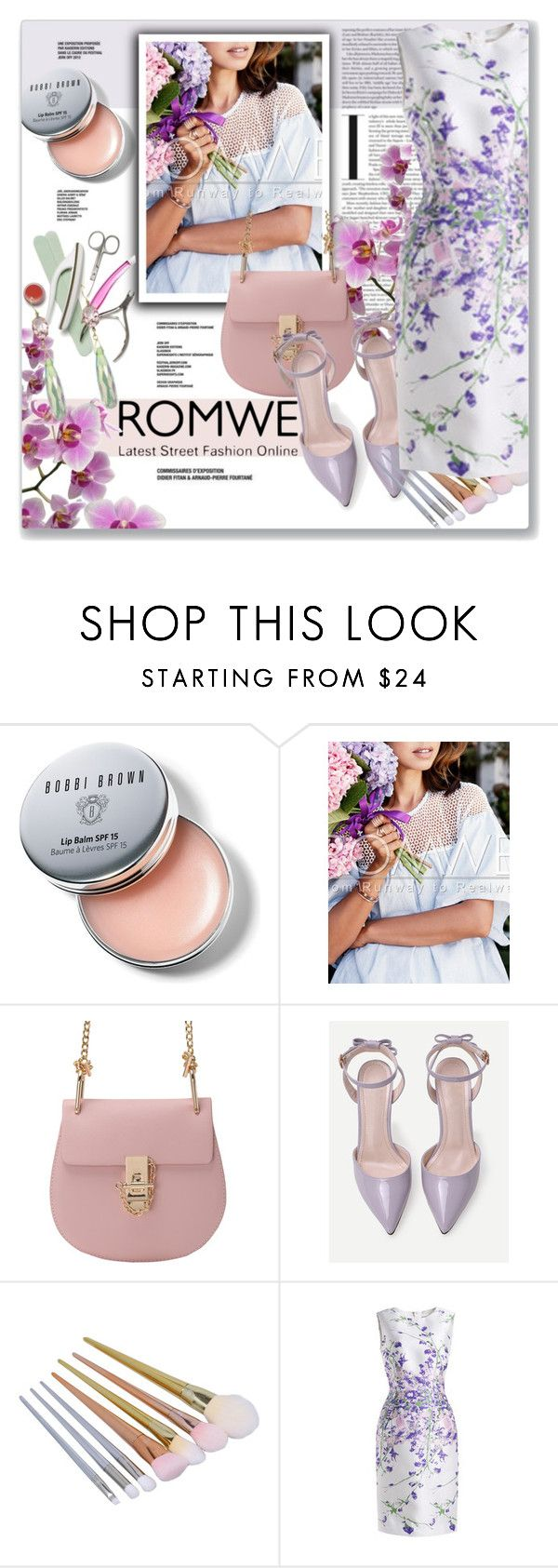 """WIN ROMWE $30 COUPON"" by astromeria ❤ liked on Polyvore featuring Bobbi Brown Cosmetics, Nikon and romwe"
