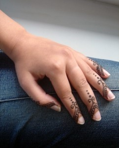 mehndi design: EASY MEHNDI DESIGN