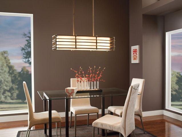 Lampa wisząca z miejscem na trzy źródła światła to dobre rozwiązanie dla Twojej jadalni. #mlamp #oświetlenie #lampa #zwis #wystrój #wnętrz #retro #vintage