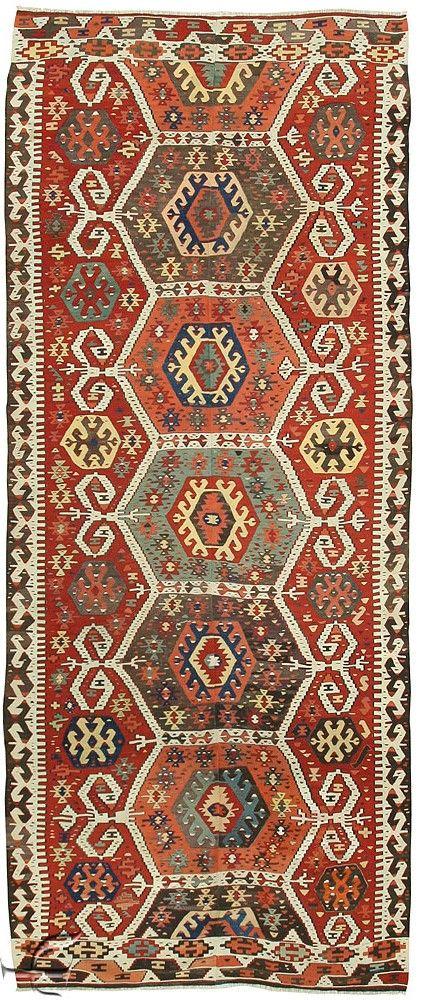 Turkish Kilims - Aydin Rug                                                                                                                                                                                 More
