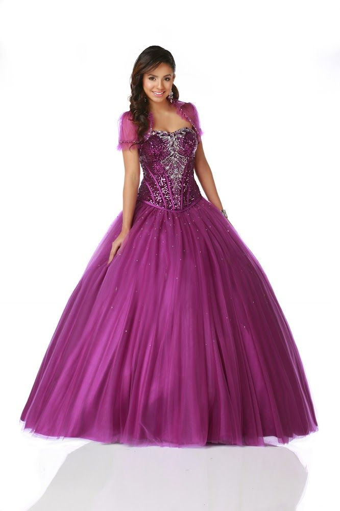 74 best vestidos xv images on Pinterest | Cute dresses, Ball gowns ...