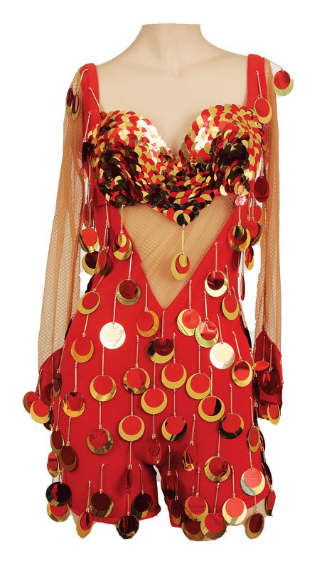 Kate Pierson B52s Costume Worn On Cosmic Thing Tour