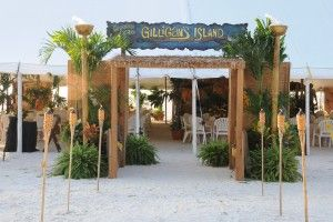 Gilligan's Island Corporate Themed Event Idea
