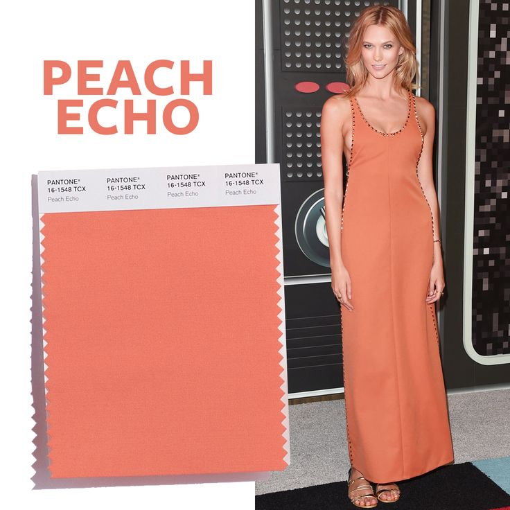 See the Top 10 Colors for Spring 2016 - Peach Echo  - from InStyle.com