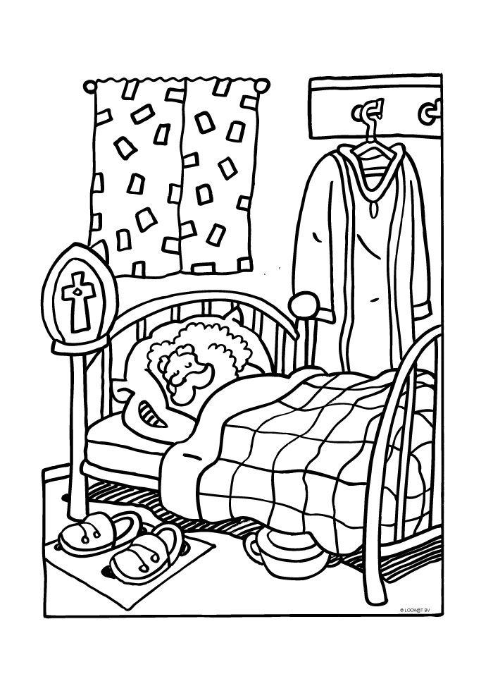Heerlijk slapen in bed