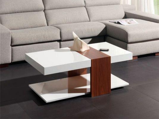 Fotografía del catálogo de muebles auxiliares de la firma MODULEY, Mesa auxiliar ALASAKA