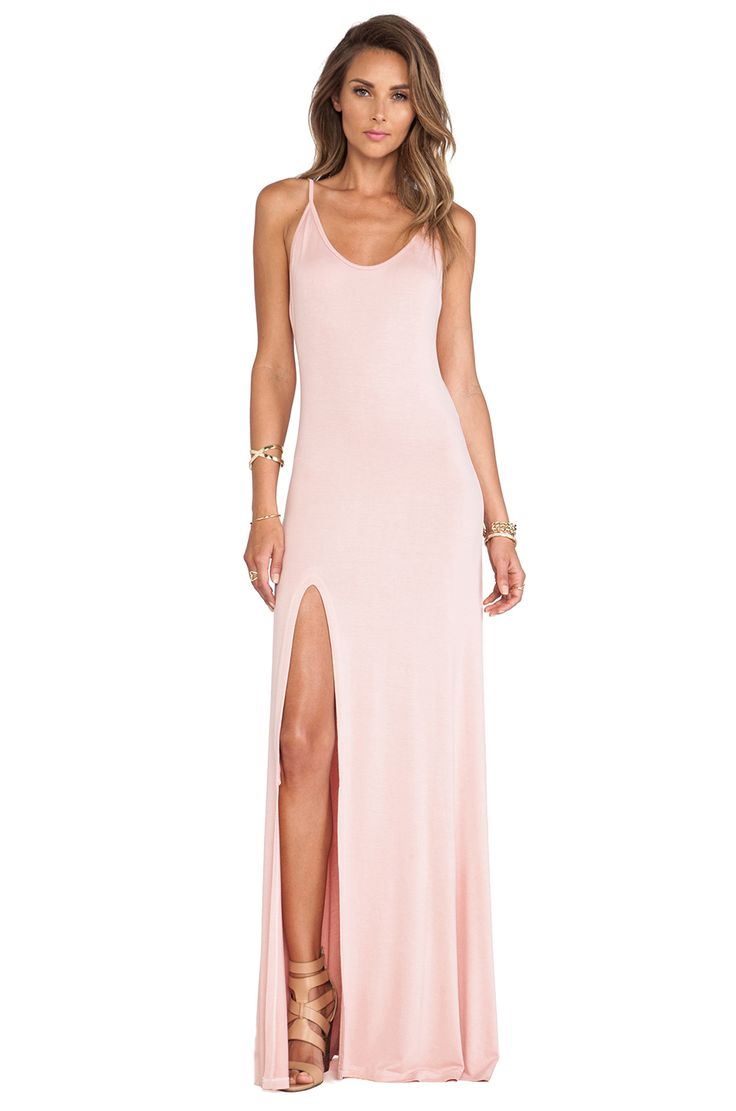 Lovers + Friends Another Girl Maxi Dress in Mauve   REVOLVE