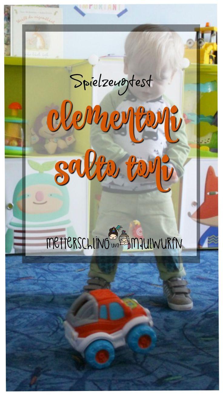 ferngesteuertes Auto ab 2 Jahre (Kleinkind). Clementoni Salto Toni , elektronisch - Spielzeug Test