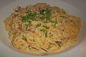 Carbonara wie bei der Mamma in Rom, ein gutes Rezept aus der Kategorie Eier. Bewertungen: 6. Durchschnitt: Ø 3,9.