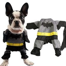 Batman vestiti del cane animali domestici abbigliamento charme costume outfit scialle mantello vestito operato superhero dog apparel tuta 1 pezzo solo(China (Mainland))