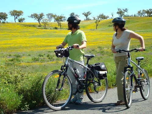 Biking in Alentejo, Portugal  #Marvao #Alentejo #Portugal  #travel #hotel #Boutiquehotelpoejo アレンテージョ、ポルトガルでサイクリング