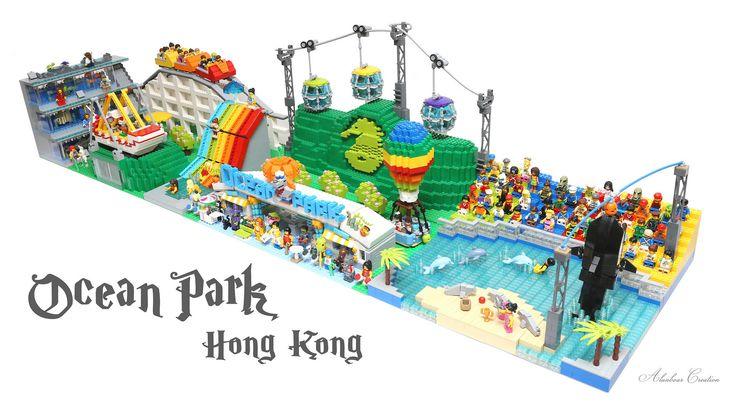 LEGO Ocean Park Hong Kong 海洋公園 | by alanboar