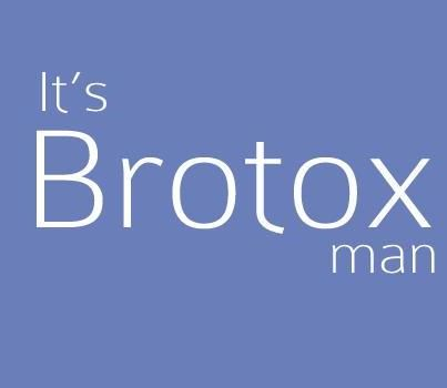 It's BROTOX Man! #brotox is super hot at Orlando medical spa Winter Park Laser & Anti-Aging center www.winterparklaser.com