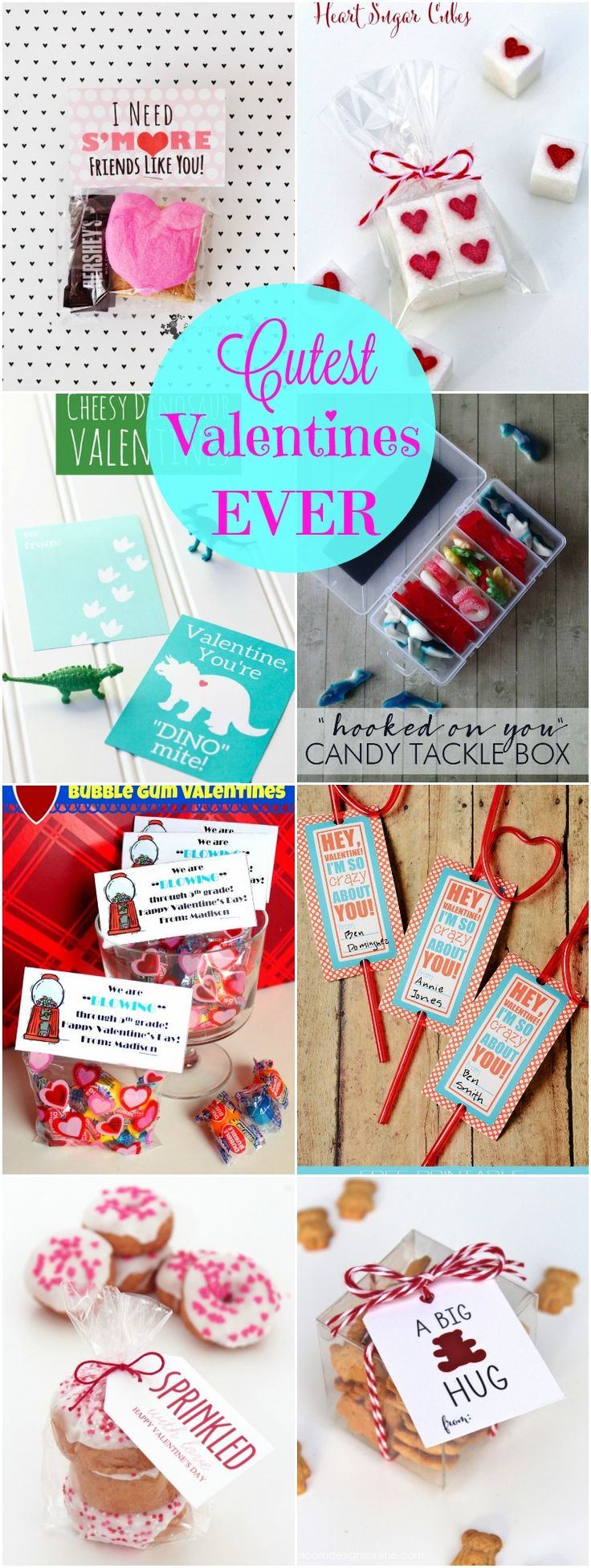 Cutest Valentines EVER with free printables