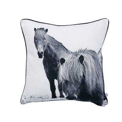 Prydnadskudde Horses Hemtex 199 kr 50x50 cm
