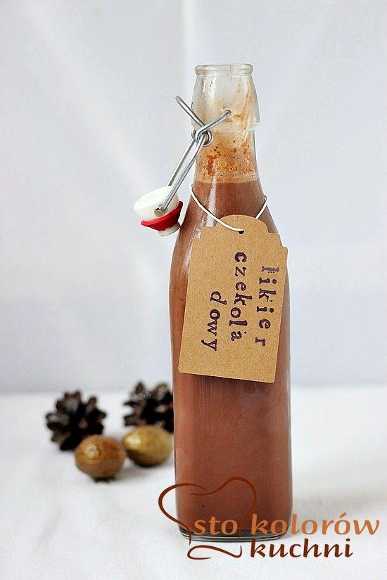 likier czekoladowy. Licor de chocolate, con la leche justa!