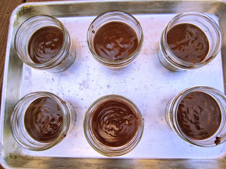 Pots of Chocolate Gold
