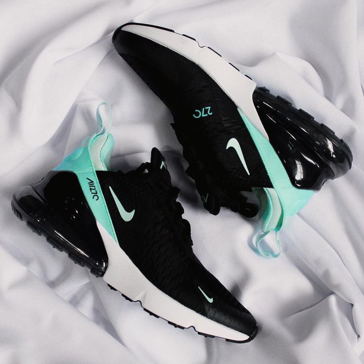 nike air max 270 nero and turquoise